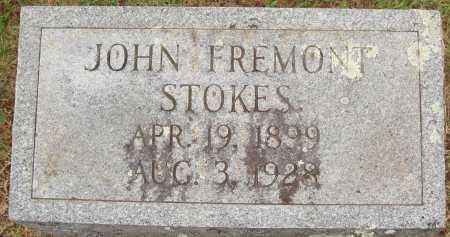 STOKES, JOHN FREMONT - Johnson County, Arkansas | JOHN FREMONT STOKES - Arkansas Gravestone Photos