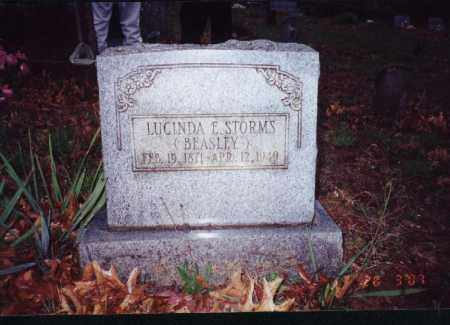 STORMS, LUCINDA ELLEN 'NELLIE' - Johnson County, Arkansas | LUCINDA ELLEN 'NELLIE' STORMS - Arkansas Gravestone Photos