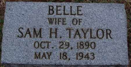 TAYLOR, BELLE - Johnson County, Arkansas | BELLE TAYLOR - Arkansas Gravestone Photos