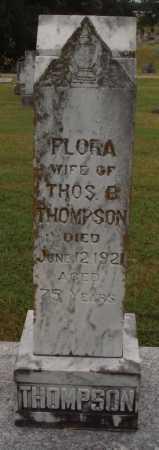 THOMPSON, FLORA - Johnson County, Arkansas | FLORA THOMPSON - Arkansas Gravestone Photos
