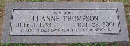 THOMPSON, LUANNE - Johnson County, Arkansas | LUANNE THOMPSON - Arkansas Gravestone Photos