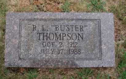 "THOMPSON, R. L. ""BUSTER"" - Johnson County, Arkansas   R. L. ""BUSTER"" THOMPSON - Arkansas Gravestone Photos"