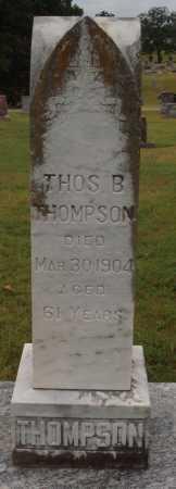 THOMPSON, THOMAS B. - Johnson County, Arkansas | THOMAS B. THOMPSON - Arkansas Gravestone Photos