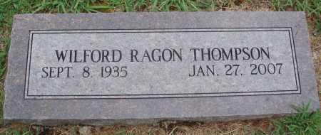 THOMPSON, WILFORD RAGON - Johnson County, Arkansas | WILFORD RAGON THOMPSON - Arkansas Gravestone Photos