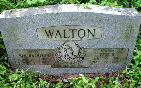 WALTON, VEDA H. - Johnson County, Arkansas | VEDA H. WALTON - Arkansas Gravestone Photos