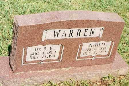 WARREN, RUTH M. - Johnson County, Arkansas | RUTH M. WARREN - Arkansas Gravestone Photos