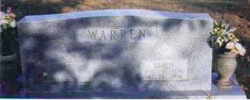 WARREN, CATHERINE - Johnson County, Arkansas | CATHERINE WARREN - Arkansas Gravestone Photos
