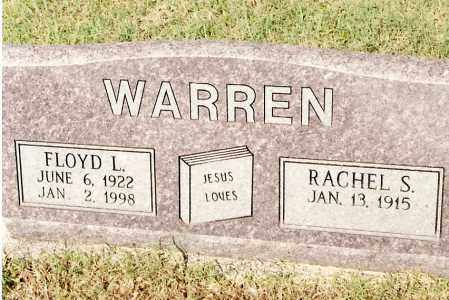 WARREN, RACHEL S - Johnson County, Arkansas | RACHEL S WARREN - Arkansas Gravestone Photos
