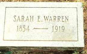 WARREN, SARAH - Johnson County, Arkansas | SARAH WARREN - Arkansas Gravestone Photos