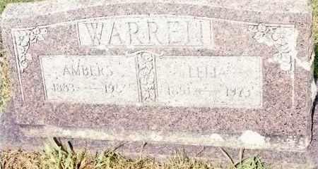 WARREN, WILLIAM - Johnson County, Arkansas | WILLIAM WARREN - Arkansas Gravestone Photos
