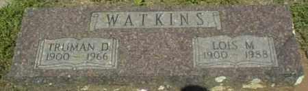 WATKINS, LOIS M - Johnson County, Arkansas   LOIS M WATKINS - Arkansas Gravestone Photos