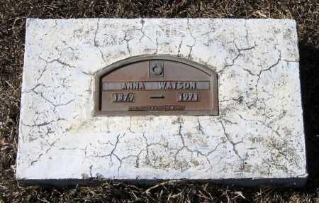 WATSON, ANNA - Johnson County, Arkansas | ANNA WATSON - Arkansas Gravestone Photos