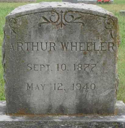 WHEELER, ARTHUR - Johnson County, Arkansas | ARTHUR WHEELER - Arkansas Gravestone Photos