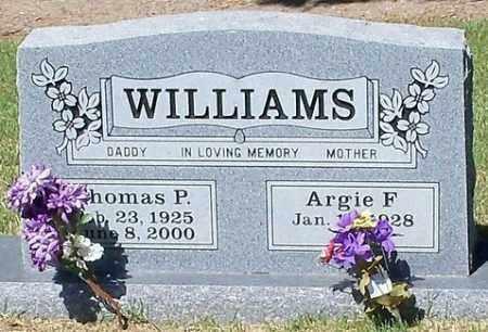 WILLIAMS, THOMAS PAUL - Johnson County, Arkansas   THOMAS PAUL WILLIAMS - Arkansas Gravestone Photos