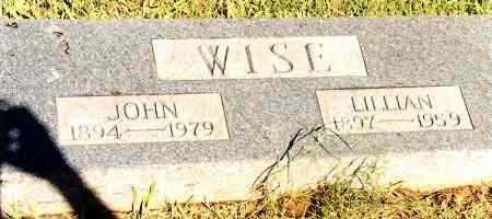 WISE, LILLIAN - Johnson County, Arkansas | LILLIAN WISE - Arkansas Gravestone Photos