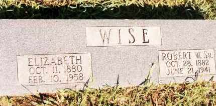 WISE, ROBERT W. - Johnson County, Arkansas | ROBERT W. WISE - Arkansas Gravestone Photos