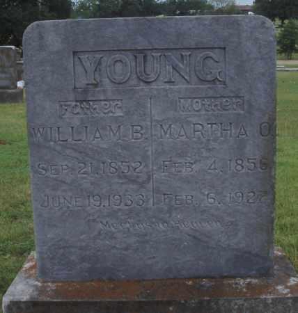 YOUNG, WILLIAM B. - Johnson County, Arkansas   WILLIAM B. YOUNG - Arkansas Gravestone Photos