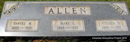 ALLEN, MARY E - Lafayette County, Arkansas | MARY E ALLEN - Arkansas Gravestone Photos