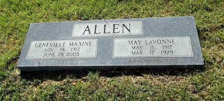 ALLEN, MAY LAVONNE - Lafayette County, Arkansas | MAY LAVONNE ALLEN - Arkansas Gravestone Photos