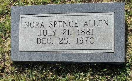 SPENCE ALLEN, NORA - Lafayette County, Arkansas | NORA SPENCE ALLEN - Arkansas Gravestone Photos