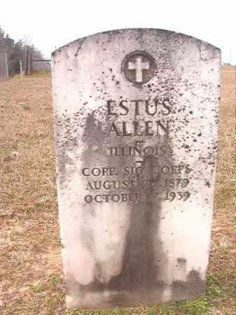 ALLEN (VETERAN), ESTUS - Lafayette County, Arkansas   ESTUS ALLEN (VETERAN) - Arkansas Gravestone Photos