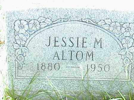 ALTOM, JESSIE M. - Lafayette County, Arkansas | JESSIE M. ALTOM - Arkansas Gravestone Photos