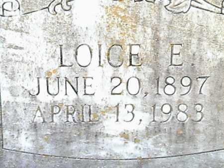 ALTOM, LOICE E. - Lafayette County, Arkansas | LOICE E. ALTOM - Arkansas Gravestone Photos