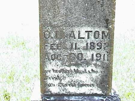 ALTOM, O. L. - Lafayette County, Arkansas   O. L. ALTOM - Arkansas Gravestone Photos