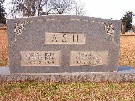 ASH, MAGGIE V - Lafayette County, Arkansas | MAGGIE V ASH - Arkansas Gravestone Photos