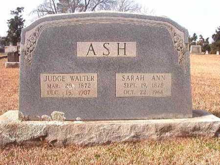 ASH, SARAH ANN - Lafayette County, Arkansas | SARAH ANN ASH - Arkansas Gravestone Photos