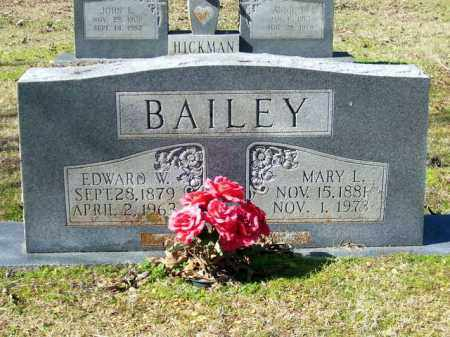 BAILEY, MARY L - Lafayette County, Arkansas | MARY L BAILEY - Arkansas Gravestone Photos