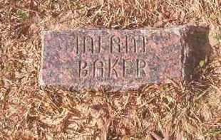 BAKER, INFANT - Lafayette County, Arkansas   INFANT BAKER - Arkansas Gravestone Photos