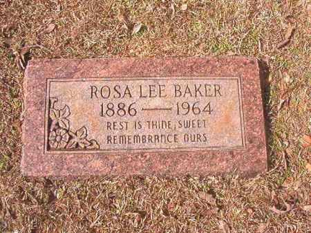 BAKER, ROSA LEE - Lafayette County, Arkansas | ROSA LEE BAKER - Arkansas Gravestone Photos