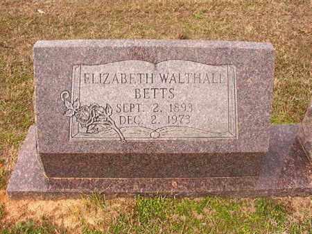 BETTS, ELIZABETH - Lafayette County, Arkansas | ELIZABETH BETTS - Arkansas Gravestone Photos