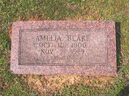 BLAKE, AMELIA - Lafayette County, Arkansas | AMELIA BLAKE - Arkansas Gravestone Photos