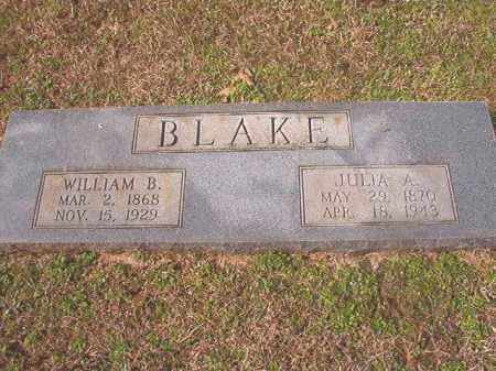 BLAKE, WILLIAM B - Lafayette County, Arkansas | WILLIAM B BLAKE - Arkansas Gravestone Photos