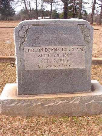 BOURLAND, JUDSON DOWNS - Lafayette County, Arkansas | JUDSON DOWNS BOURLAND - Arkansas Gravestone Photos