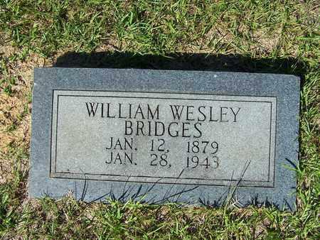 BRIDGES, WILLIAM WESLEY - Lafayette County, Arkansas | WILLIAM WESLEY BRIDGES - Arkansas Gravestone Photos