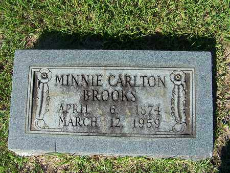 BROOKS, MINNIE - Lafayette County, Arkansas | MINNIE BROOKS - Arkansas Gravestone Photos