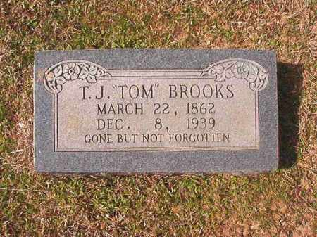 "BROOKS, T. J. ""TOM"" - Lafayette County, Arkansas   T. J. ""TOM"" BROOKS - Arkansas Gravestone Photos"
