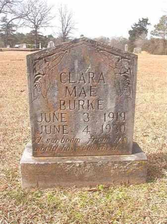 BURKE, CLARA MAE - Lafayette County, Arkansas | CLARA MAE BURKE - Arkansas Gravestone Photos