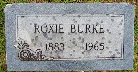 BURKE, ROXIE - Lafayette County, Arkansas | ROXIE BURKE - Arkansas Gravestone Photos