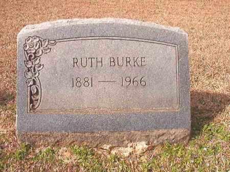 BURKE, RUTH - Lafayette County, Arkansas | RUTH BURKE - Arkansas Gravestone Photos