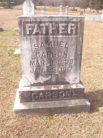 CARSON, SAMUEL - Lafayette County, Arkansas | SAMUEL CARSON - Arkansas Gravestone Photos