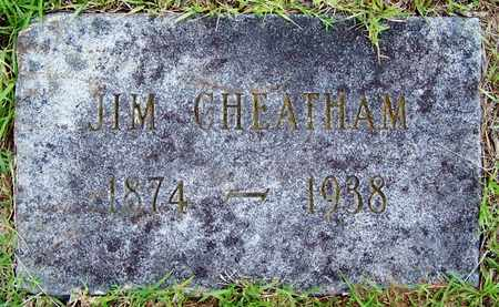 CHEATHAM, JIM - Lafayette County, Arkansas | JIM CHEATHAM - Arkansas Gravestone Photos