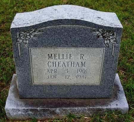 CHEATHAM, MELLIE R - Lafayette County, Arkansas   MELLIE R CHEATHAM - Arkansas Gravestone Photos