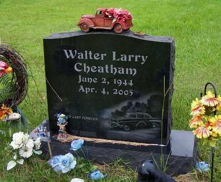 CHEATHAM, WALTER LARRY - Lafayette County, Arkansas | WALTER LARRY CHEATHAM - Arkansas Gravestone Photos