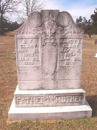 CLARY, NANCY E - Lafayette County, Arkansas   NANCY E CLARY - Arkansas Gravestone Photos