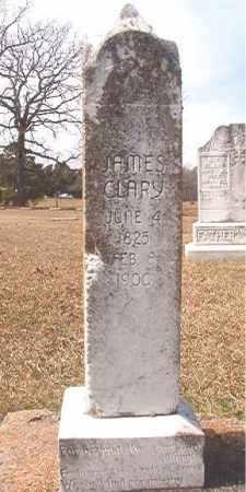 CLARY, JAMES - Lafayette County, Arkansas | JAMES CLARY - Arkansas Gravestone Photos