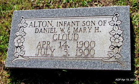 CLOUD, ALTON - Lafayette County, Arkansas   ALTON CLOUD - Arkansas Gravestone Photos